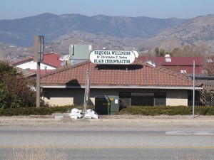 Tehachapi CA Sequoia Wellness