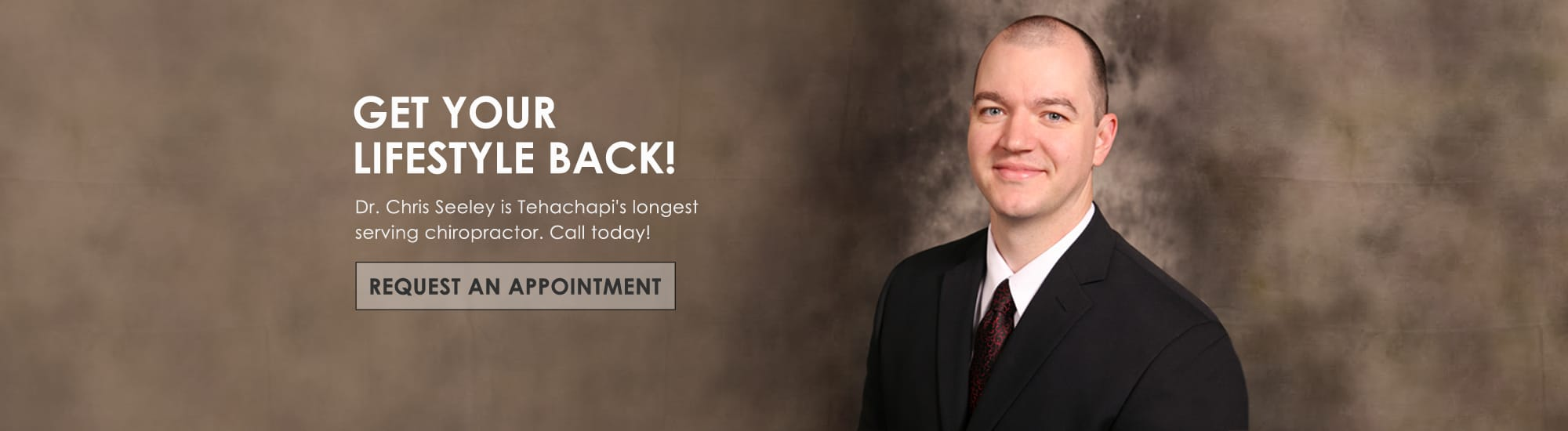 Chiropractor Tehachapi CA Chris Seeley request appointment